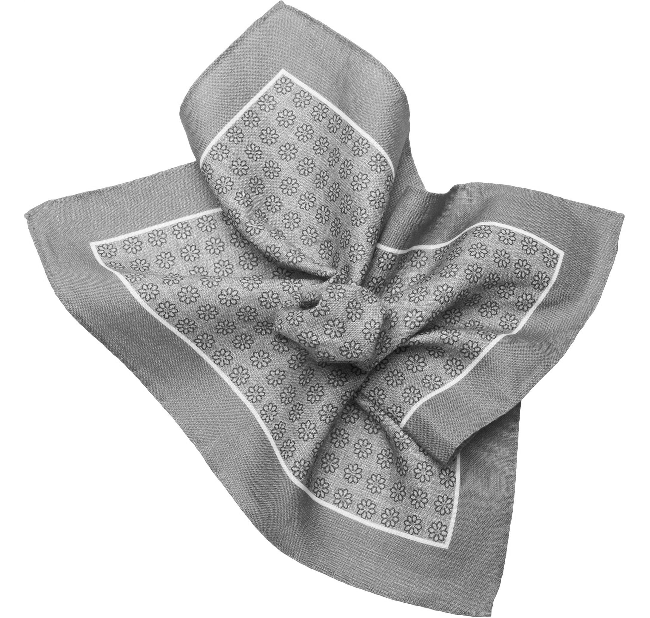 phụ kiện nam khăn vuông cài áo