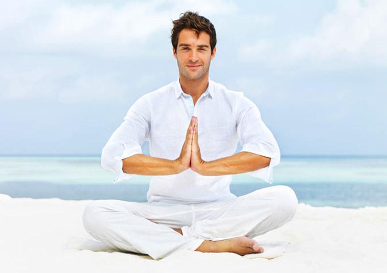 Tập yoga rất tốt cho nam giới