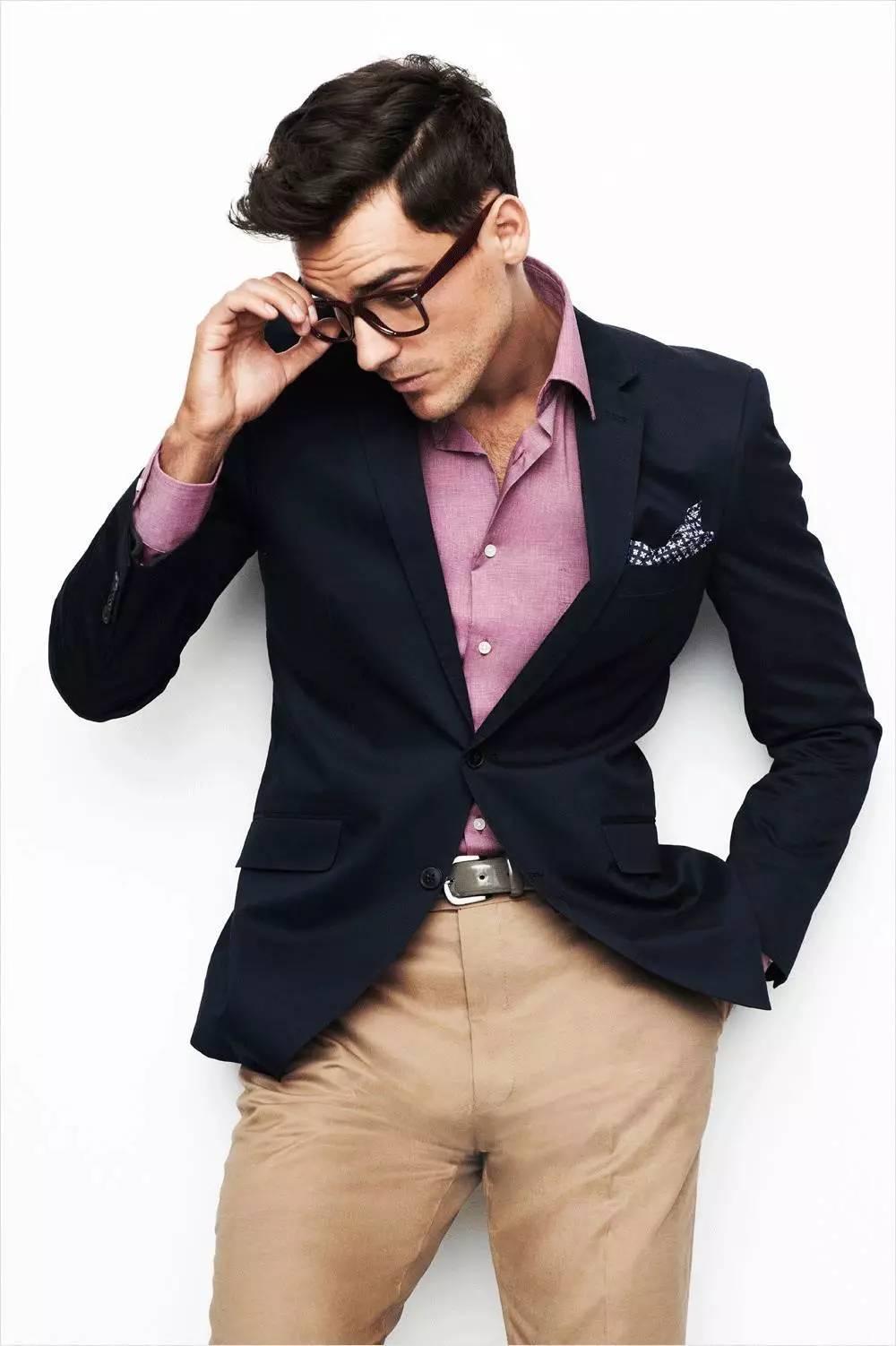 4 cách phối đồ với áo vest nam màu xanh-elle man7