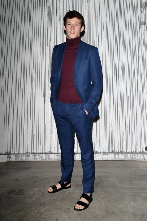 Phong cách ăn mặc đẹp của Callum Turner