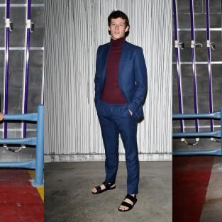 Những quý ông với phong cách ăn mặc đẹp tại show Gucci