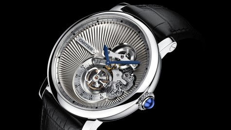 Đồng hồ Cartier nam Reversed Tourbillon: Tự do thể hiện