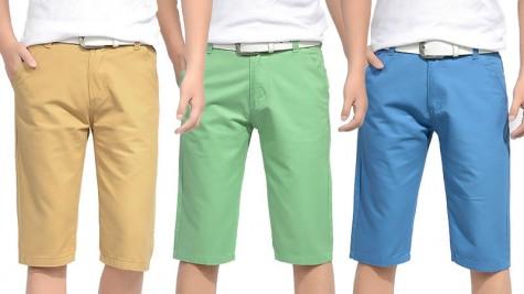 10 kiểu quần short kaki nam cho mùa hè