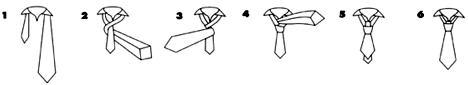 cách thắt cà vạt đẹp kiểu four-in-hand