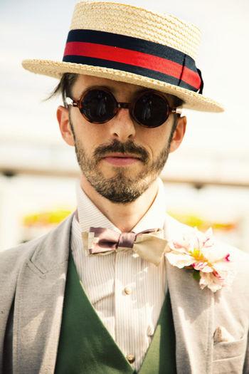Canotier Men Fashion