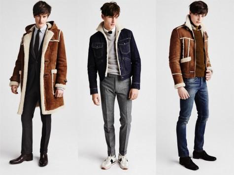 Các kiểu áo khoác trong BST Thu-Đông 2015 của thương hiệu thời trang nam Tom Ford
