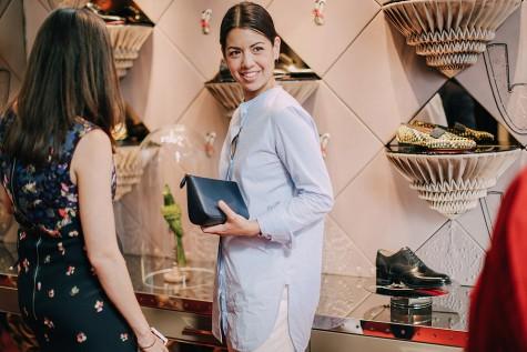 Buổi tiệc của Christian Louboutin cũng thu hút những vị khách nữ yêu thời trang