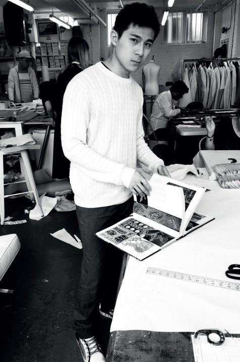 Nhà thiết kế thời trang Wan Hung