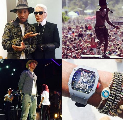 tai khoan instagram Pharrell Williams