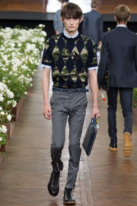 Xu hướng thời trang nam Dior Homme 2016