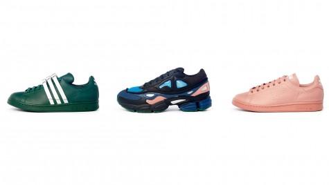 Dòng sản phẩm giày thể thao adidas x raf simons