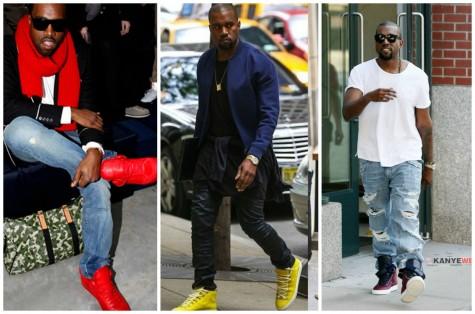 phong cách thời trang với giày thể thao nổi bật