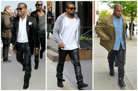 Phong cách thời trang unisex với quần da