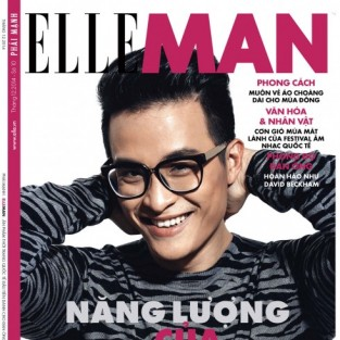 ELLE MAN Tháng 12/2014: Từ trái tim tới trái tim