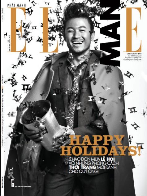 ELLE MAN tháng 12/2013: HAPPY HOLIDAYS!