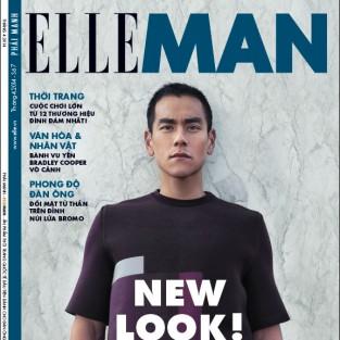 ELLE MAN tháng 4/2014: NEW LOOK!