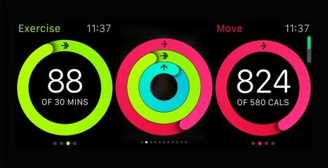 Ứng dụng hay Activity có tác dụng đo các hoạt động trong ngày của bạn
