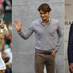 2 cách phối đồ nam đẹp như Roger Federer