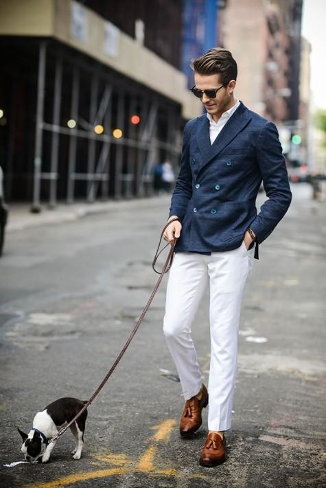 phong cách thoi trang nam smart casual lich lam