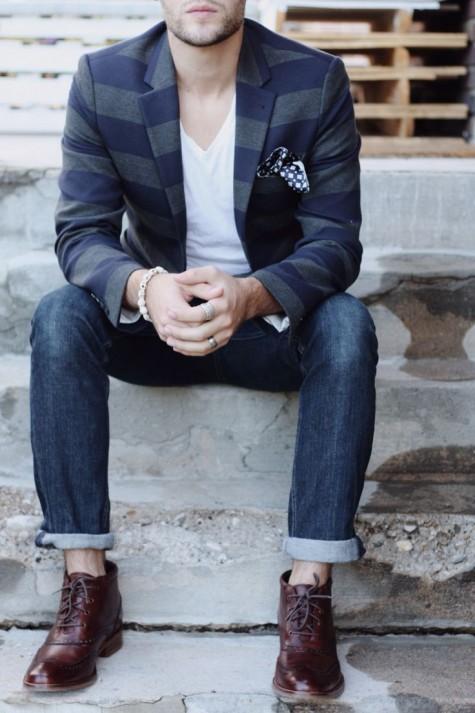 phong cach thoi trang nam smart casual khi di party