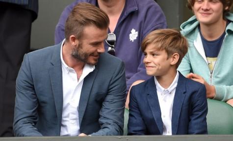 Áo vest nam đẹp David Beckham