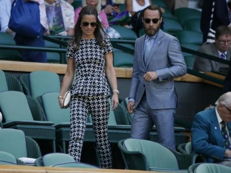 Áo vest nam đẹp của James Middleton