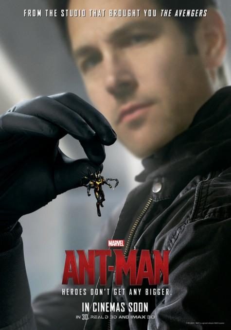 Phim Ant-man là bộ phim đầu tiên trong kỷ nguyên anh hùng thứ ba của Marvel sẽ được ra mắt mùa hè này.