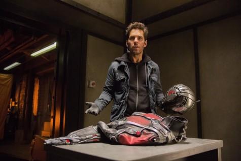 Paul Rudd đảm nhiệm nhân vật chính Scott Lang trong phim Ant-Man