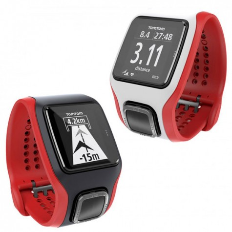 do cong nghe  doc cho nguoi choi tennis TomTom Multi-Sport Cardio GPS