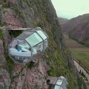 Khách sạn trên không kỳ thú tại đất nước Peru