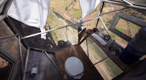 nhà nghỉ trên không của đất nước Peru