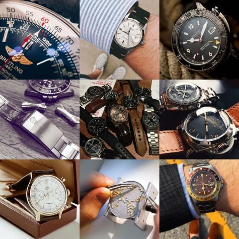 đồng hồ cao cấp nam trên tài khoản instagram @isaacwin2