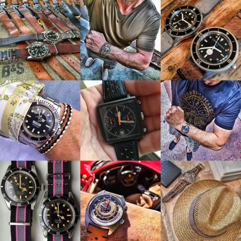 đồng hồ cao cấp nam trên tài khoản instagram @_queuecumber_