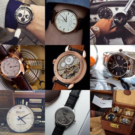 đồng hồ cao cấp nam tài khoản instagram @hodinkee