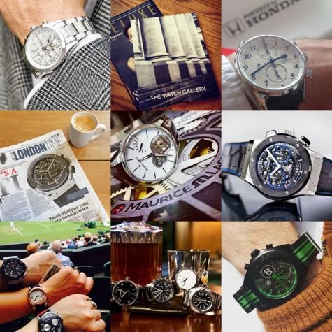 tài khoản instagram @the_watch_gallery về đồng hồ cao cấp nam