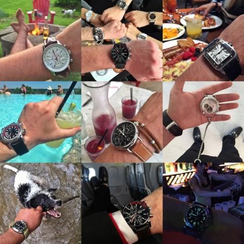 Tài khoản instagram @Wristi đồng hồ thuỵ sỹ