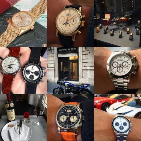 Tài khoản Instagram @marlondesimone về đồng hồ cao cấp nam