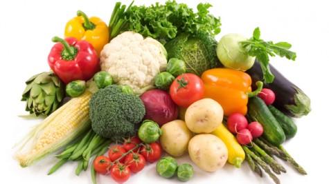 cách giải độc cơ thể với rau tươi