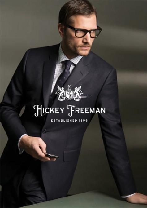 thương hiệu đồ vest nam cao cấp Hickey Freeman