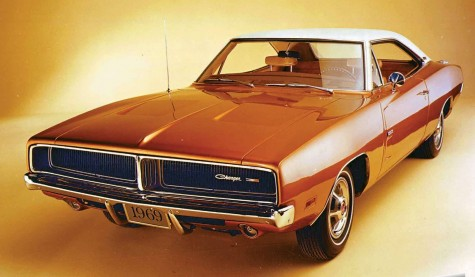 Xe hoi co Dodge Charger 1969