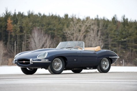 xe hoi co Jaguar E-Type