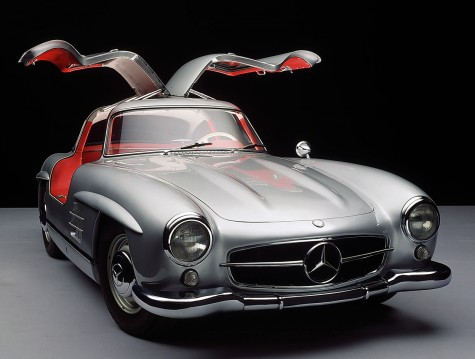 xe hoi co Mercedes 300SL Gullwing