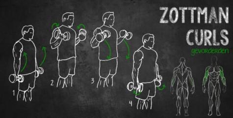 Tập tạ tay kiểu Zottman Curl