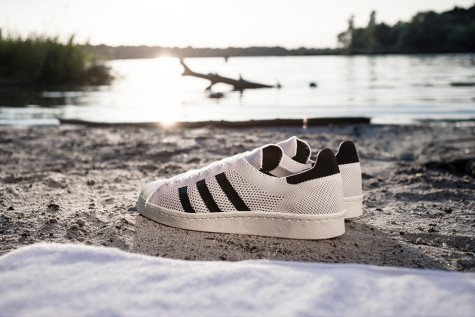 Giày thể thao nam đẹp Adidas Consortium Superstar 80s Primeknit