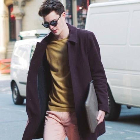 thời trang nam giới cần đầu tư áo len mỏng
