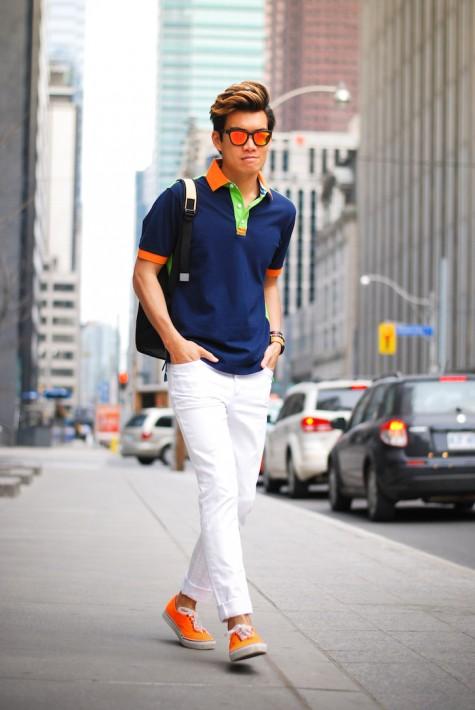 Áo polo chất liệu cotton hay cotton lưới (pique cotton) là những lựa chọn tuyệt vời cho ngày hè nóng bức bởi sự thoáng mát.