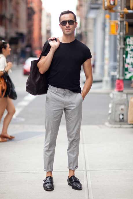 Áo thun luôn là món đồ thời trang nam giới cơ bản