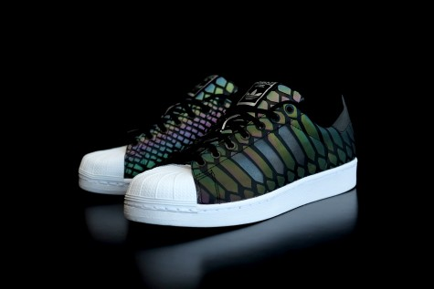 Giày thể thao nam đẹp Adidas Superstar Xeno Black