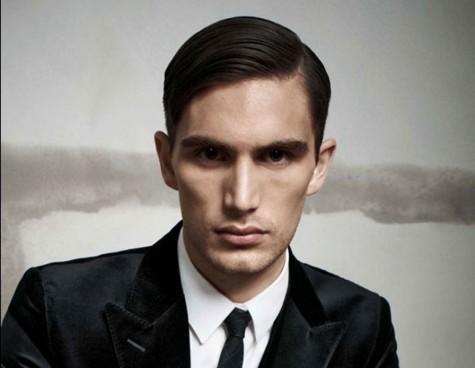 những kiểu tóc đẹp cho nam tóc mái lệch