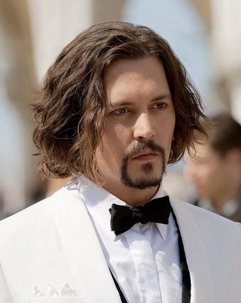 những kiểu tóc đẹp cho nam tóc ngang vai